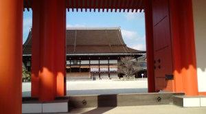 「篤姫」で見た?承明門よりのぞむ紫宸殿