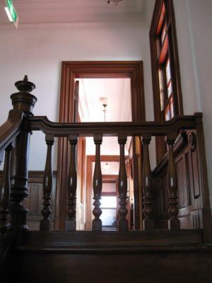階段-斜陽館